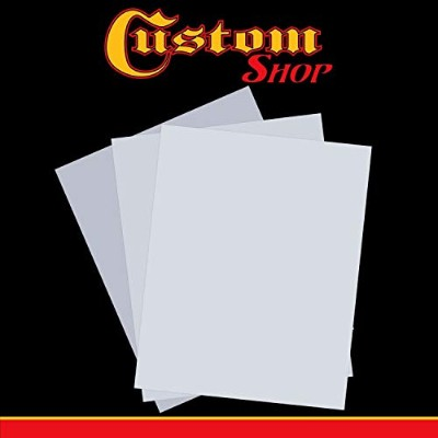 Custom Shop 20cm X 25cm Blank Mylar Stencil Design Material - Pack of 3 Sheets