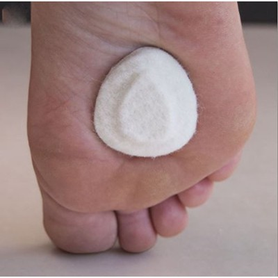 Dr. Jill's Small Metatarsal / Neuroma Pads 1/4 (10 Pads) by Dr. Jill's