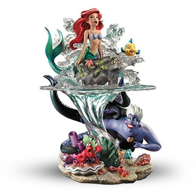 Disney The Little Mermaid Part Of Her世界アリエルSculpture by The Bradford Exchange