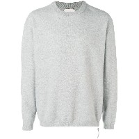 Laneus long-sleeve fitted sweater - グレー
