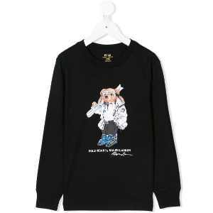 Ralph Lauren Kids Polo Bear sweatshirt - ブラック