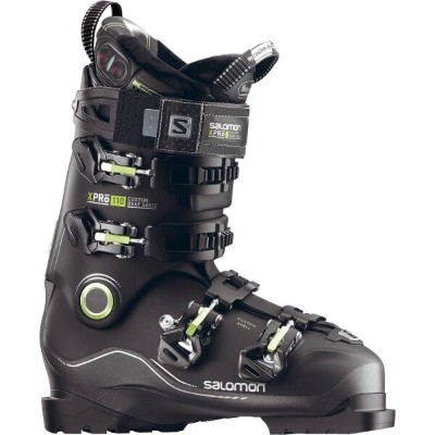 サロモン Salomon メンズ スキー・スノーボード シューズ・靴【X Pro Custom Heat Ski Boots】Black/Metallic Black/Acid Green