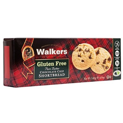 Walkers Shortbread - Pure Butter Chocolate Chip Shortbread - 140g