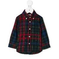 Ralph Lauren Kids check shirt - レッド