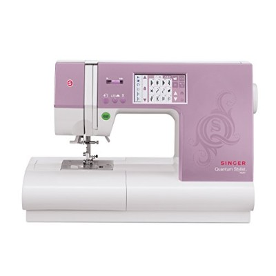 SINGER 9985 Quantum Stylist TOUCH 960-Stitch Computerized Sewing Machine with Large Color Touch...