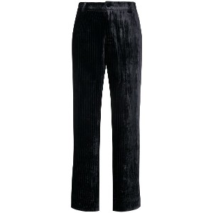 F.R.S For Restless Sleepers velvet pinstripe trousers - ブルー