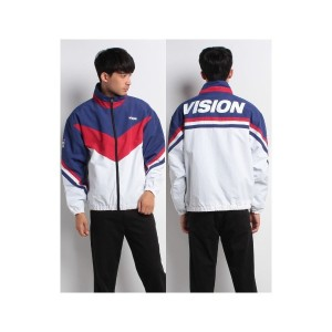 【SALE 30%OFF】VENCE EXCHANGE MENS 【VISION】ビジョン ナイロントラックジャケット(その他)【返品不可商品】