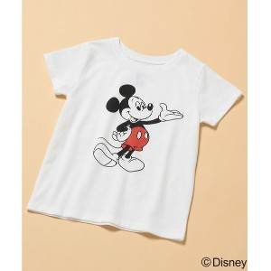 【SALE 10%OFF】ROPE' PICNIC KIDS 【ROPE' PICNIC KIDS】【DISNEY(ディズニー)】MICKEY Tシャツ(オフホワイト(15))【返品不可商品】