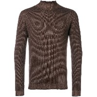 Dell'oglio ribbed knit sweater - ブラウン