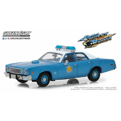 1/43 Smokey and the Bandit (1977) - 1975 Plymouth Fury Arkansas State Police[グリーンライト]《12月仮予約》