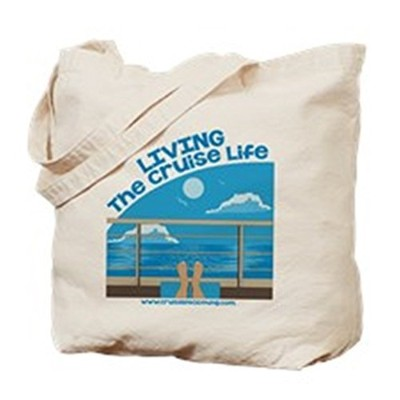 CafePress - Cruiselife - Natural Canvas Tote Bag, Cloth Shopping Bag by CafePress