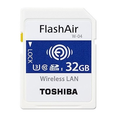 Toshiba Flashair w-04?32?GB SDHCクラス10メモリカード