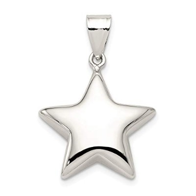 Beautiful Sterling silver 925 sterling Sterling Silver Star Charm comes with a Free Jewelry Gift
