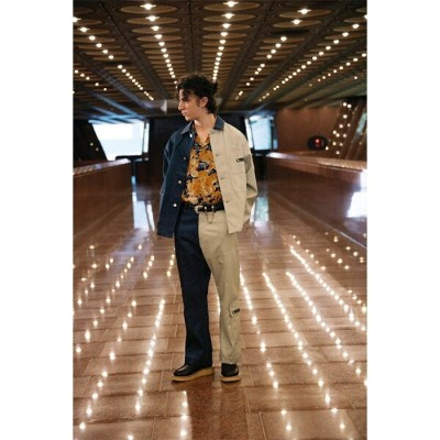 【定番人気のビッグシャツ】MARKAWARE マーカウェア / PARKING BAND COLLAR SHIRTS COMFORT-FIT (white) [MARKAWARE-A18F...