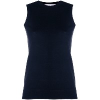 Pringle Of Scotland knitted tank top - ブルー