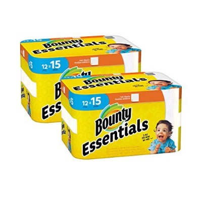 Bounty Essentials Full Sheet Paper Towels,24 Large Rolls [並行輸入品]
