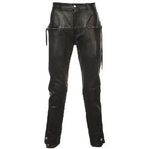 Bed J.W. Ford slim leather trousers - ブラック