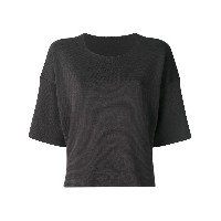Pleats Please By Issey Miyake boxy T-shirt - グリーン
