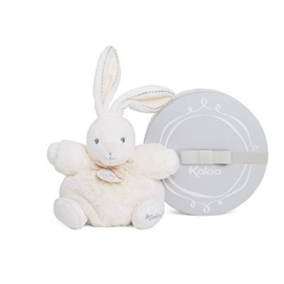 Kaloo Perle Plush Toys, Cream Chubby Rabbit, Small [並行輸入品]