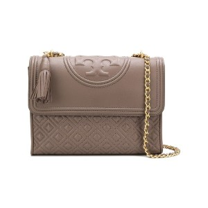 Tory Burch Fleming convertible shoulder bag - グレー