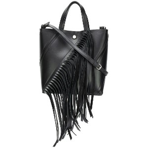 Proenza Schouler Small Fringed Hex Tote - ブラック