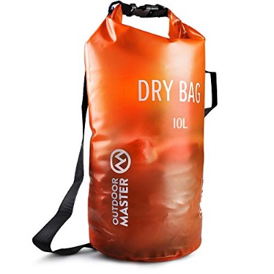 OUTDOORMASTER 防水ケース (20L, オレンジ)