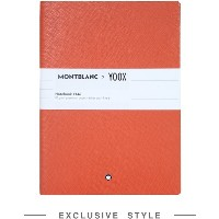 ユニセックス MONTBLANC x YOOX Notebook #146, Yoox Exclusive ノート オレンジ