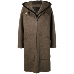 Max Mara Atelier loose fitted coat - ブラウン