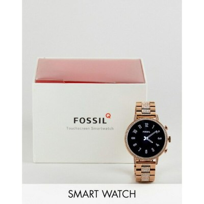 フォッシル メンズ 腕時計 アクセサリー Fossil FTW6011 Gen 4 Q Venture Smart Watch 40mm In Gold Gold