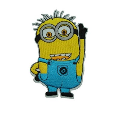 Iron on Sew on Patch: Despicable Me Minion (Jerry) by Patch-Iron