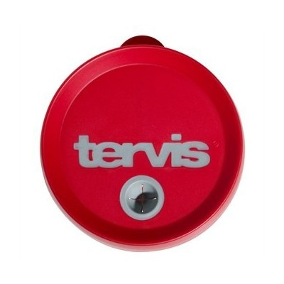 Tervis Tumbler Red/Gray Straw Lid 24oz
