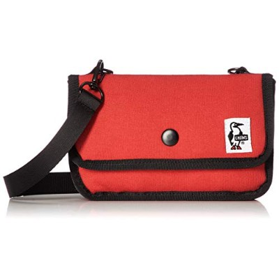 [チャムス]CHUMS Mini Pouch Sweat Scarlet
