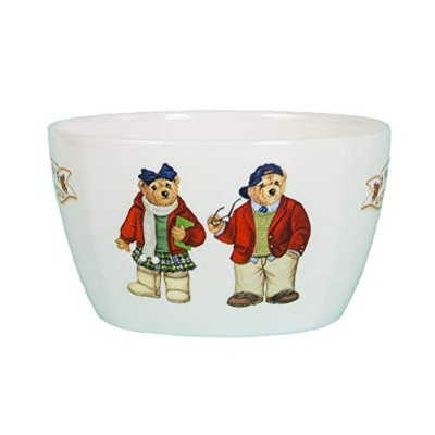 Teddy Bear Cereal Bowl – レッドandブラック