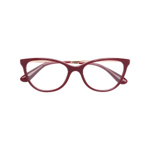 Dolce & Gabbana Eyewear cat eye glasses - レッド