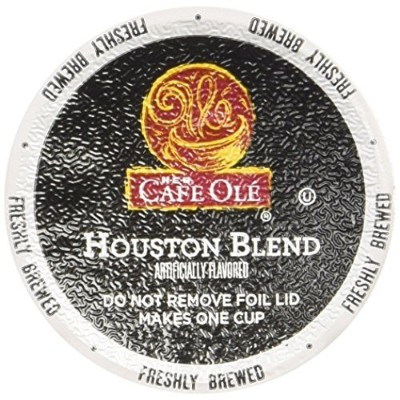 Cafe Ole Taste of Texas Houston Blend 12 Count K-cups (Pack of 2) by Cafe Ole