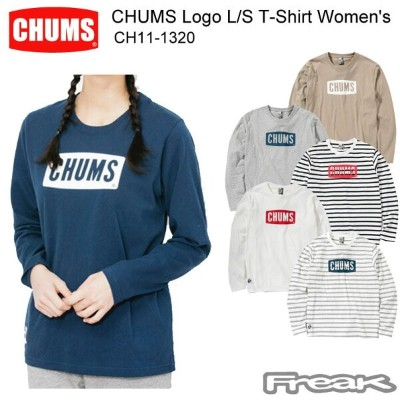 CHUMS チャムス CH11-1320 CHUMS Logo L/S T-Shirt Women's チャムスロゴ長袖Tシャツ(トップス/カットソー) ※取り寄せ品