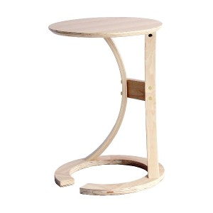 CHIC FURNITURE sidetable(LOTUS)○ILT2987NA ナチュラル テーブル・デスク