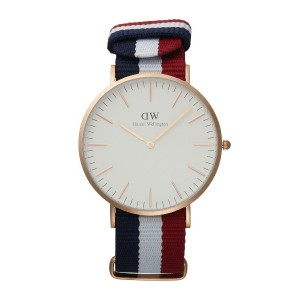 Classic Cambridge0103DW 40mm/Daniel Wellington○BYCWT32A ローズゴールド/トリコロールカラー 時計