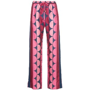 F.R.S For Restless Sleepers printed straight-leg trousers - ピンク