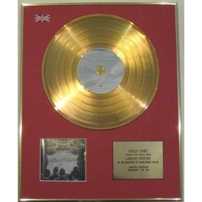 FALL OUT BOY-Ltd CD Gold Disc-FROM UNDER THE CORK TREE