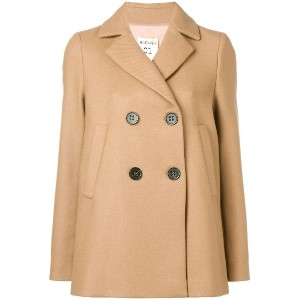 Semicouture double breasted coat - ニュートラル