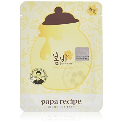 Papa recipe Bombee Honey Mask (25ml×10 sheet)/パパレシピ ボムビー ハニー マスク (25ml×10 sheet)