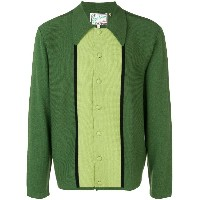 Levi's Vintage Clothing panel knitted shirt - グリーン