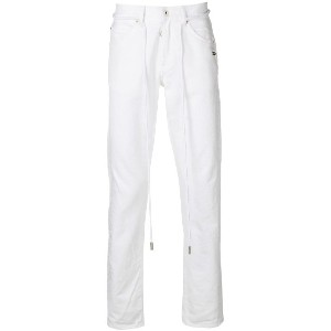 Off-White loose fitted jeans - ホワイト