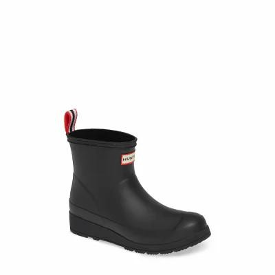 ハンター HUNTER レインシューズ・長靴 Original Play Rain Bootie Black