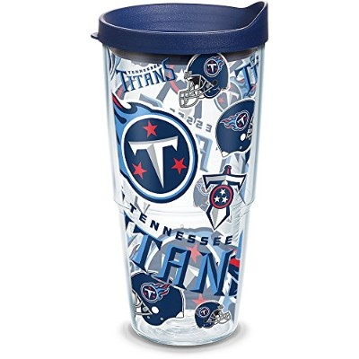 TervisタンブラーTennessee Titans All Overラップ24オンス