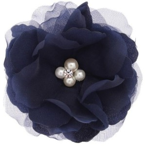 【Couture Brooch(クチュールブローチ)】 フラワーコサージュ OUTLET > Couture Brooch > アクセサリー > ブローチ/コサージュ ネイビー