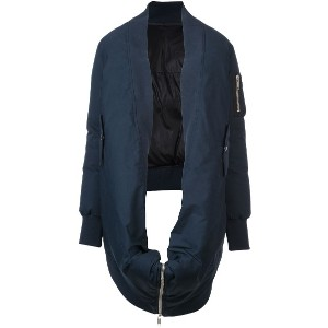 Unravel Project Tela bomber cape - ブルー
