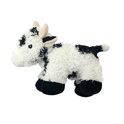 Multipet's Look Who's Talking Plush Filled Cow 7-Inch Dog Toy Stuffed Pet