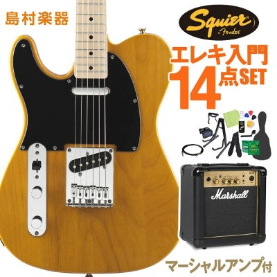 Squier by Fender Affinity Series Telecaster Left-Handed Maple Fingerboard エレキギター 初心者14点セット ...